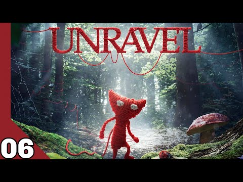 Unravel Let's play! Down in a hole