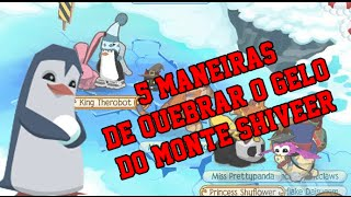 5 MANEIRAS DE QUEBRAR O GELO DO MONTE SHIVEER!