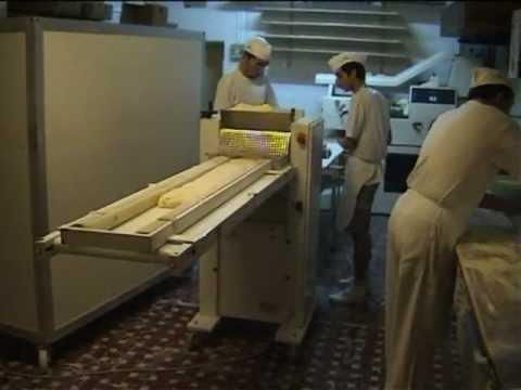 macchina per produzione pane ciabattaMPG YouTube