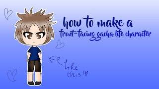 How To Make A Front-Facing Gacha Life Character | Gacha Tutorial