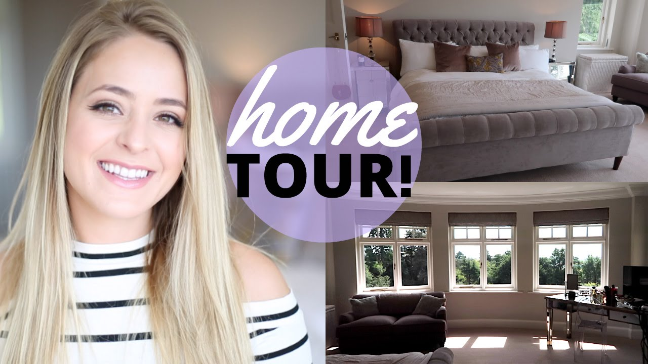 Home Tour Pt 4: BEDROOM! | Fleur De Force - YouTube