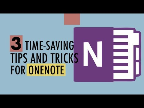 3 Time Saving OneNote Tips