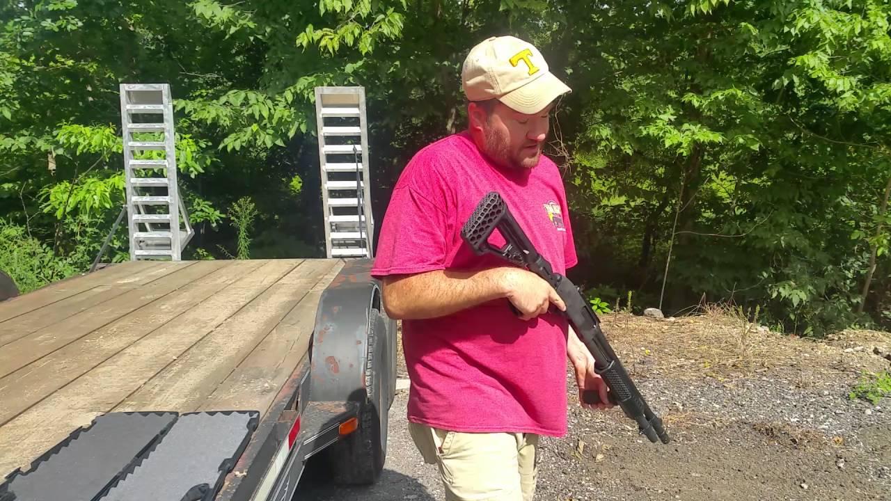 Remington 870 Tactical Blackhawk Knoxx SpecOps gen 3