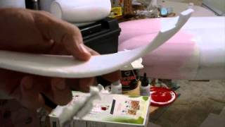 How to fix Damaged & Damage on Foam RC planes!