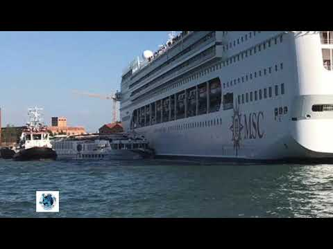 Don Action Jackson - FRIGHTENING!!! Cruise Ship Crashes Into Riverboat And Dock