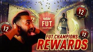 FIFA 18: PLATZ 12 DER WELT! 94+ TOTS! TOP 100 FUT CHAMPIONS REWARDS + MONTHLY! | CIHAN YASARLAR