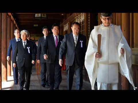 Japanese lawmakers visit Yasukuni Shrine