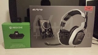 Astro A40 Gaming Headset /Xbox One Stereo Headset Adapter Set Up