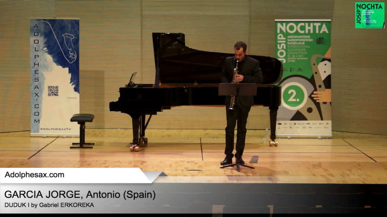 Duduk I by Gabriel ERKOREKA – GARCIA JORGE, Antonio (Spain)