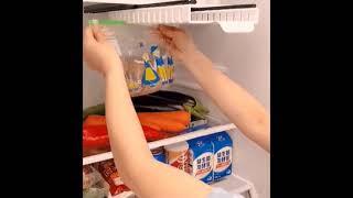 냉장고 야채 과일 먹다남은 음식 정리 칸칸 슬라이딩 지…