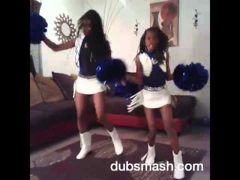 "Indianapolis Jr Colts Cheerleaders ""Turn up"""