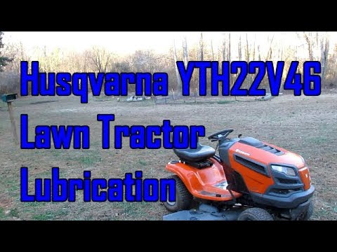 Husqvarna Yard Tractor Lubrication and Maintenance