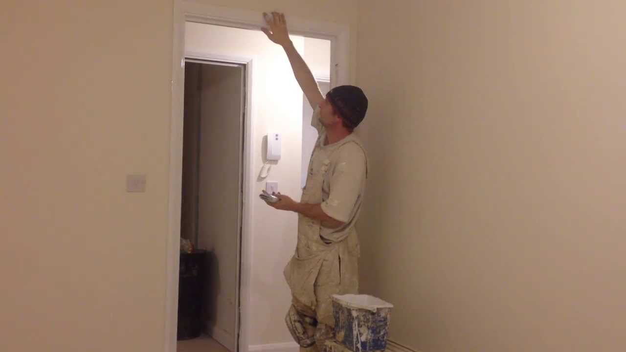 Painting & decorating. How to gloss a door frame, , Trade secrets ...