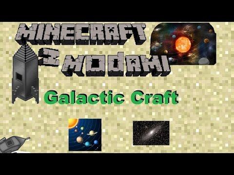 Minecraft z modami #78 - Galactic Craft - Kosmos! Dosłownie