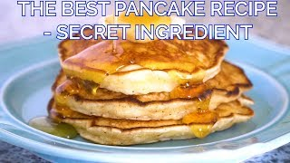 The Best Pancake Recipe with a Secret Ingredient