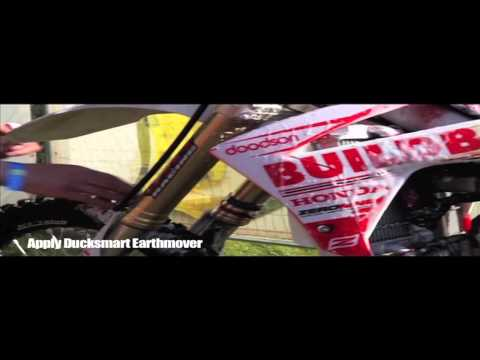 How to clean your Motocross bike with Buildbase Honda.