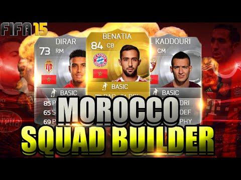FIFA 15 ULTIMATE TEAM - MOROCCO SQUAD BUILDER FT BENATIA & TAARABT