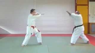 6ème KATA, Taï-jitsu kata rokudan