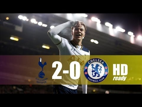 Tottenham Hotspur vs Chelsea 2-0 - All Goals & Extended Highlights - EPL 04/01/2017 HD