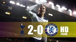Tottenham Hotspur vs Chelsea 2-0 - All Goals & Extended Highlights - EPL 04012017 HD