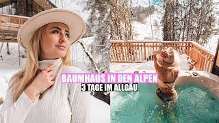 Baumchalets Im Allgau Ii Urlaub In Den Alpen Youtube