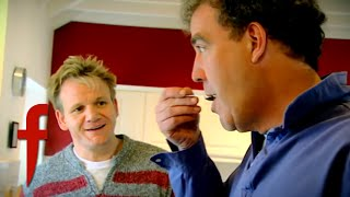 Jeremy Clarkson & Gordon Ramsay Cook Lobster | The F Word