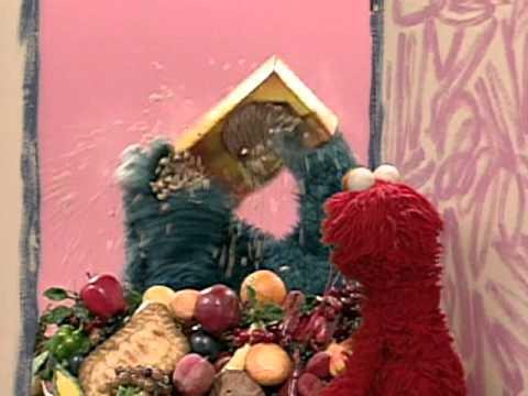 Elmo S Eating Food