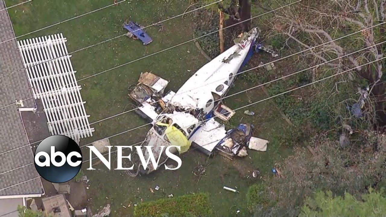 5 killed when small plane crashes into California home