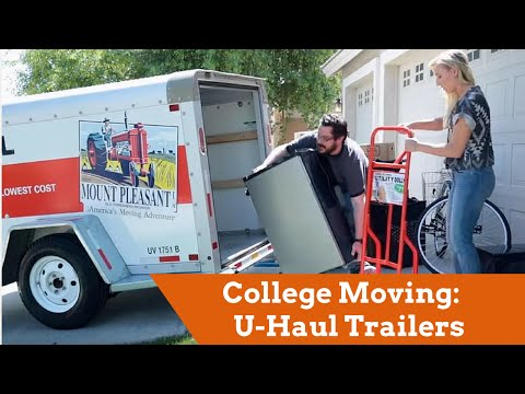 College Moving: U-Haul Trailers for Students