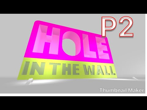 Roblox: Hole In the Wall #2