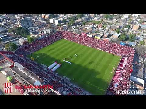 [Amistoso] Recibimiento San Martín Vs. Atlético Tucumán - Horizonte Drones