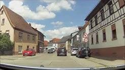 Ortsdurchfahrt im Odenwald/HP: Rimbach (Süd rein, Nord raus)