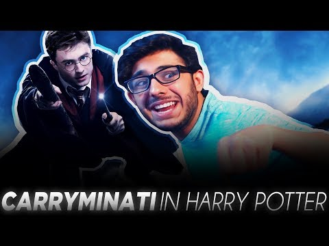 If CarryMinati Was In Harry Potter.....