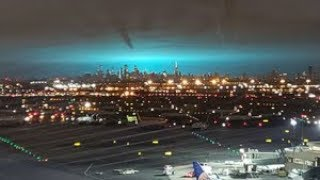 Why the night sky turned blue across New York City
