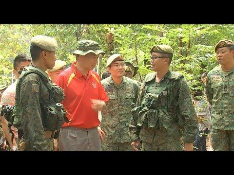 PM Lee observes SAF training in Brunei