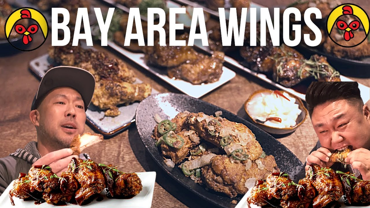 WINGSLUT 🐔 Asian Style CHICKEN WINGS -  San Francisco I Bay Area Food Guide #shorts