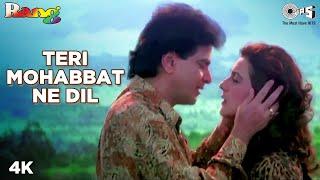 Teri Mohabbat Ne Dil | Jitendra | Amrita Singh | Alka Yagnik | Kumar Sanu | Rang Movie | 90's Song