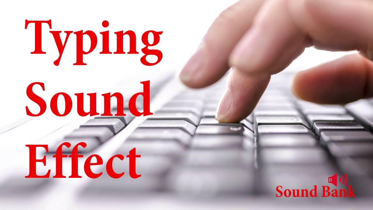 typing keyboard sound effects free download