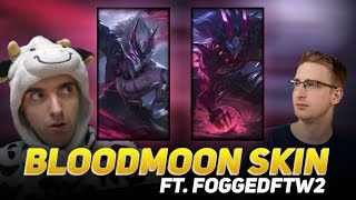 COWSEP AND FOGGEDFTW2 WITH THE NEW BLOOD MOON SKIN?!