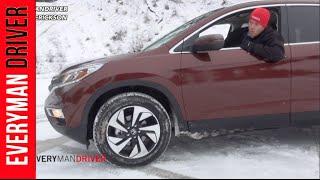 Video SNOWY Off-Road Review #2: 2015 Honda CR-V AWD on Everyman Driver download MP3, 3GP, MP4, WEBM, AVI, FLV Juli 2018