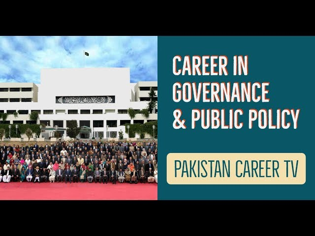 Career In Governance And Public Policy