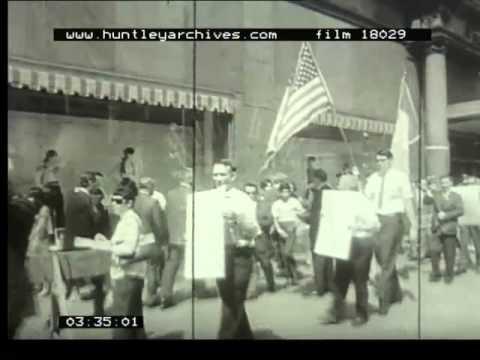 Social Unrest U. S, 1960