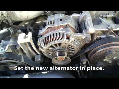 How To: Subaru Impreza Alternator Removal and Install