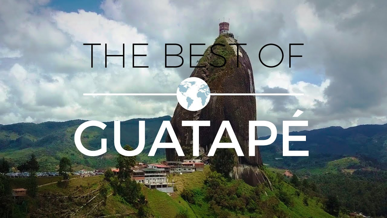 Colombia - The Best of Guatapé | Drone Videography 4K