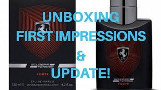 Scuderia Ferrari Forte - Unboxing, First Impression and Update!