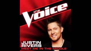 "Justin Rivers: ""Meet In The Middle"" - The Voice (Studio Version)"