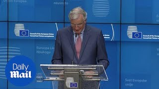 Barnier says EU studying Brexit border compromise for N Ireland