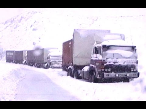 Christchurch news archives :  Raw footage  Massive snowfall in Canterbury