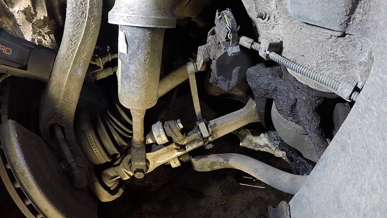 Audi A6 Allroad 2003 Suspension Sensor Change Timelaps