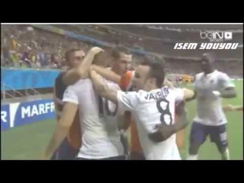 كريم بن زيمة يزلزل فرنسا Algérie   Karim Benzema Vs France